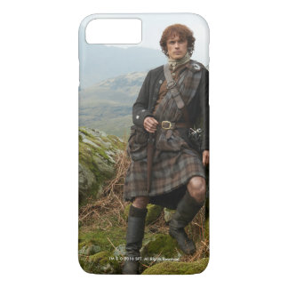 Outlander | Jamie Fraser - Leaning On Rock iPhone 7 Plus Case
