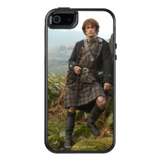 Outlander | Jamie Fraser - Leaning On Rock OtterBox iPhone 5/5s/SE Case