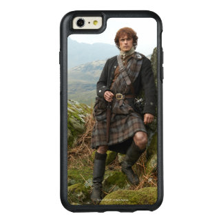 Outlander | Jamie Fraser - Leaning On Rock OtterBox iPhone 6/6s Plus Case