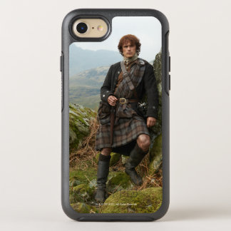 Outlander | Jamie Fraser - Leaning On Rock OtterBox Symmetry iPhone 8/7 Case