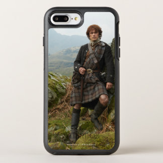 Outlander | Jamie Fraser - Leaning On Rock OtterBox Symmetry iPhone 8 Plus/7 Plus Case
