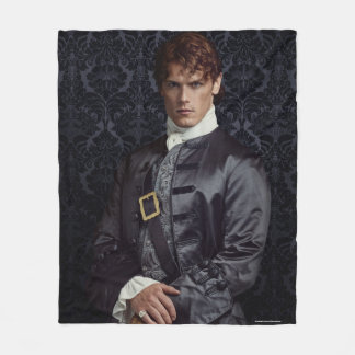 Outlander | Jamie Fraser - Portrait Fleece Blanket
