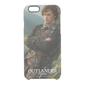 Outlander | Reclining Jamie Fraser Photograph Clear iPhone 6/6S Case