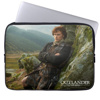 Outlander | Reclining Jamie Fraser Photograph Computer Sleeves