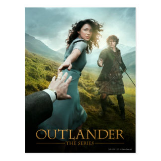 Outlander Season 1A Key Art Postcard
