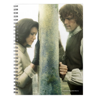 Outlander Season 3 | Claire and Jamie Notebook