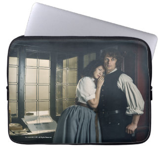 Outlander Season 3 | Jamie and Claire Affection Laptop Sleeve