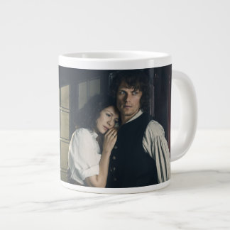 Outlander Season 3 | Jamie and Claire Affection Large Coffee Mug