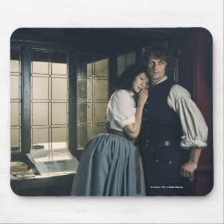 Outlander Season 3 | Jamie and Claire Affection Mouse Pad