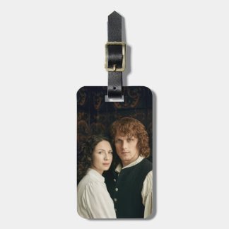 Outlander Season 3 | Jamie and Claire Photograph Luggage Tag