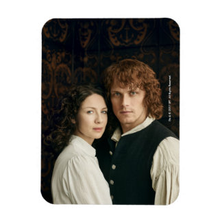 Outlander Season 3 | Jamie and Claire Photograph Magnet