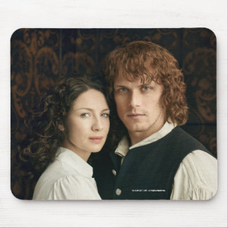 Outlander Season 3 | Jamie and Claire Photograph Mouse Pad
