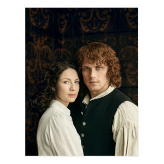 Outlander Season 3 | Jamie and Claire Photograph Postcard