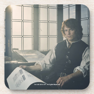 Outlander Season 3 | Jamie Fraser Reading Coaster