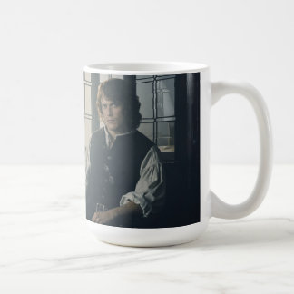 Outlander Season 3 | Jamie Fraser Reading Coffee Mug