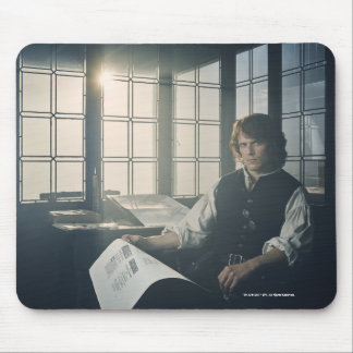 Outlander Season 3 | Jamie Fraser Reading Mouse Pad