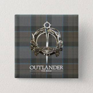 Outlander | The MacKenzie Clan Brooch 15 Cm Square Badge