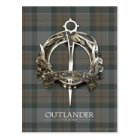 Outlander | The MacKenzie Clan Brooch Postcard
