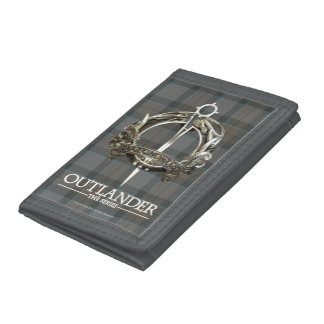 Outlander | The MacKenzie Clan Brooch Tri-fold Wallets