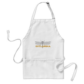 Outlandia Dragonfly in Amber Standard Apron