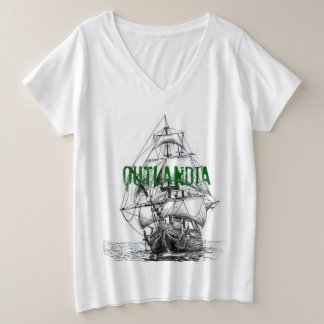 Outlandia Voyager V-neck Women's T-Shirt