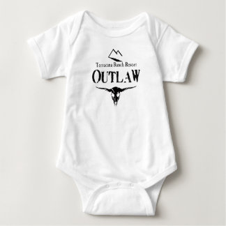 Outlaw Baby G Baby Bodysuit