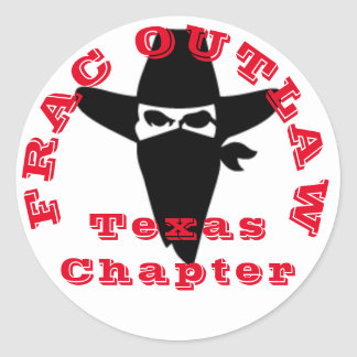 Outlaw chapter classic round sticker