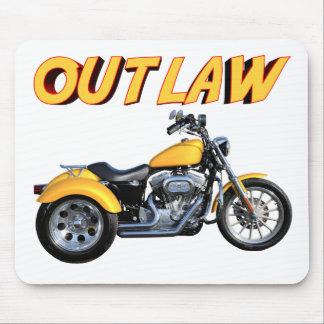 Outlaw Gold Trike Mouse Pad