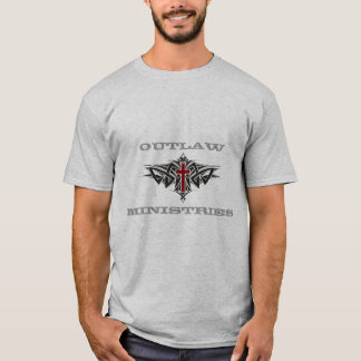 Outlaw Ministries- Layered T-Shirt