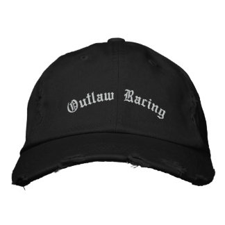 Outlaw Racing Embroidered Hat