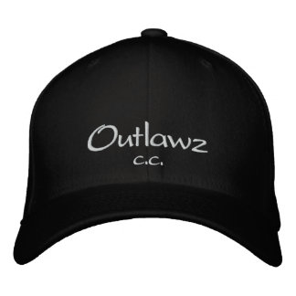 Outlawz, c.c. embroidered hat