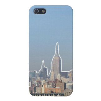 Outlined Buildings iPhone 5 Case