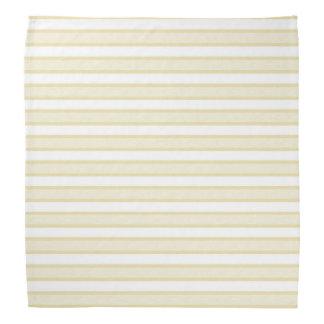 Outlined Stripes Beige Bandana