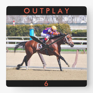 Outplay Square Wall Clock