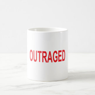 Outraged Coffee Mug
