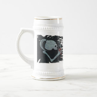 Outrageous Fortune Tattered Flag Tankard Beer Stein