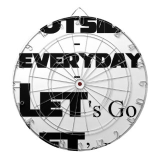 Outside - Everyday - Let's Go - Let's Play Dartboard