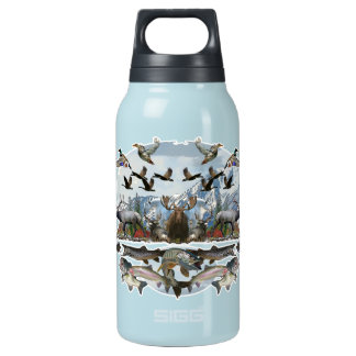 Outside life insulated water bottle