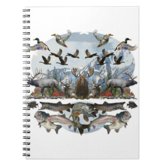 Outside life notebook