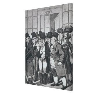 Outside Lloyds of London Canvas Prints
