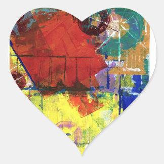 Outside the Box 2 Heart Sticker