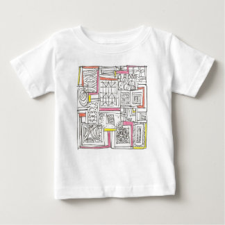 Outside The Box-Abstract Geometric Doodle Baby T-Shirt