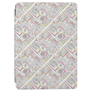Outside The Box-Abstract Geometric Doodle iPad Air Cover