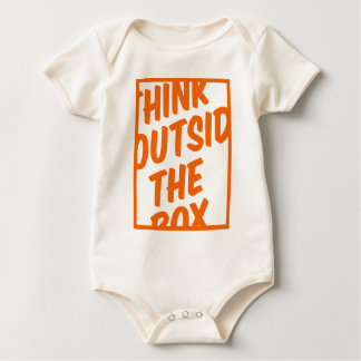 Outside the box baby bodysuit