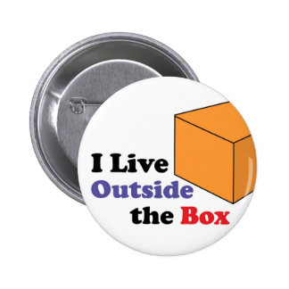 Outside the Box Pinback Buttons