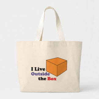 Outside the Box Tote Bags