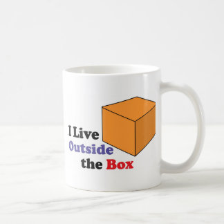Outside the Box Basic White Mug