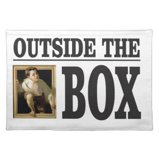 outside the box boy placemat