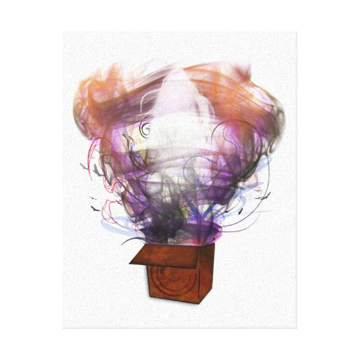 Outside the Box - Inverted Canvas Prints