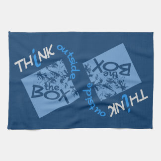 OUTSIDE THE BOX kitchen towel